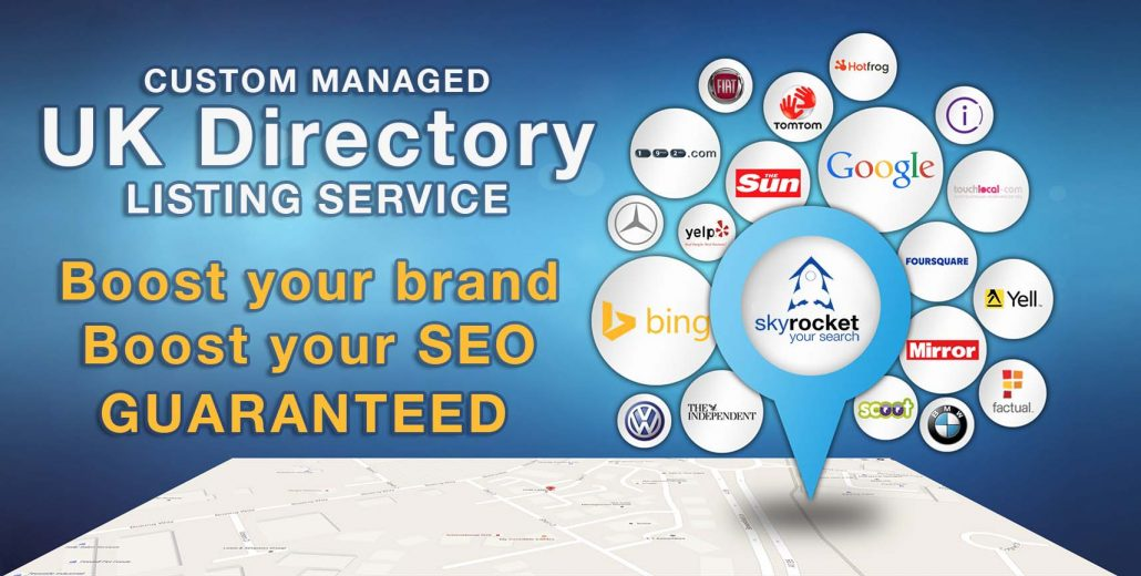 UK directory listing service by Skyrocket Your Search